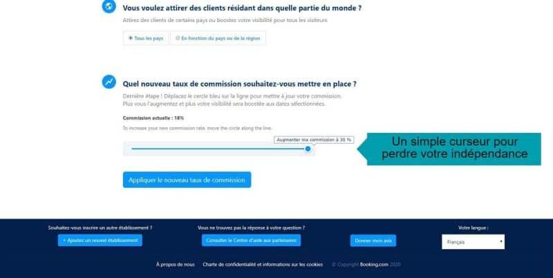 Optimisation booking.com pour un hôtel - visibilité payante